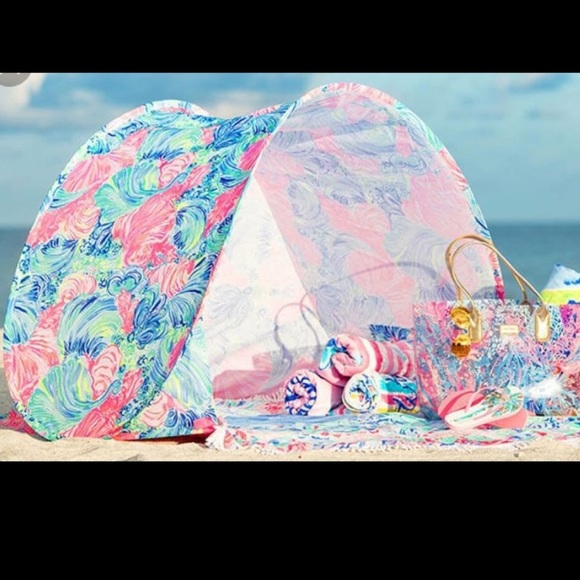 67a91176de3268 Lilly Pulitzer Accessories | Beach Canopy Tent | Poshmark